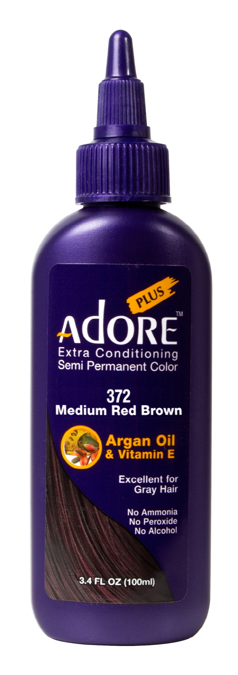Adore Plus 372-Medium Red Brown