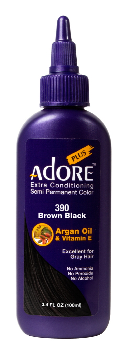 Adore Plus 390-Brown Black