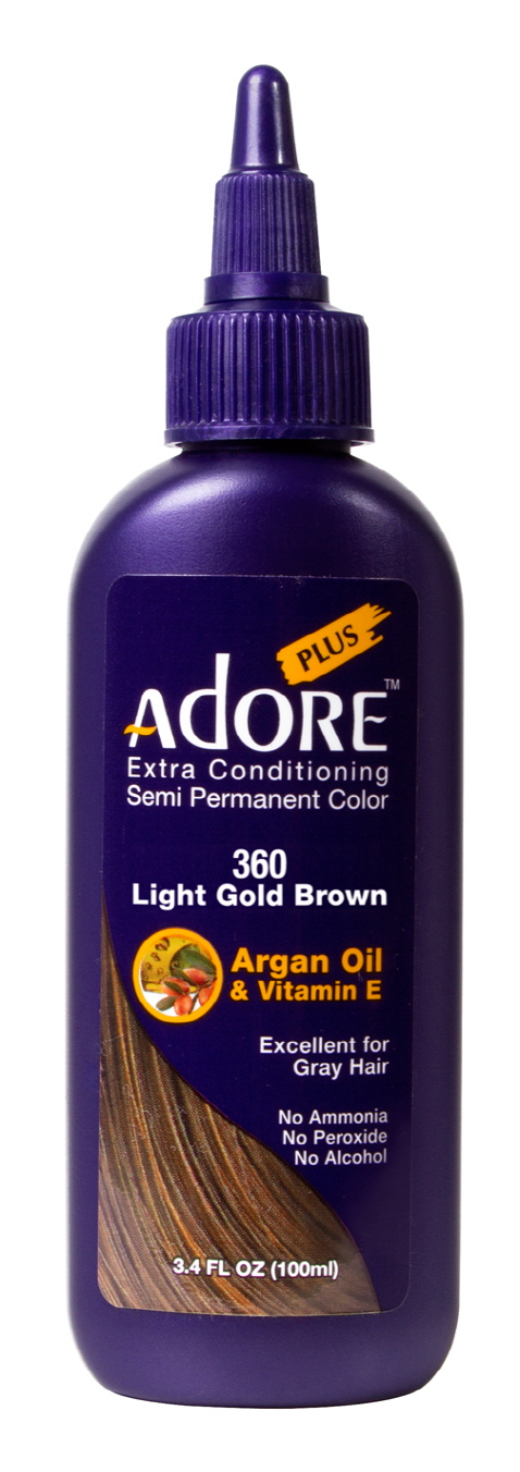 Adore Plus 360-Light Gold Brown